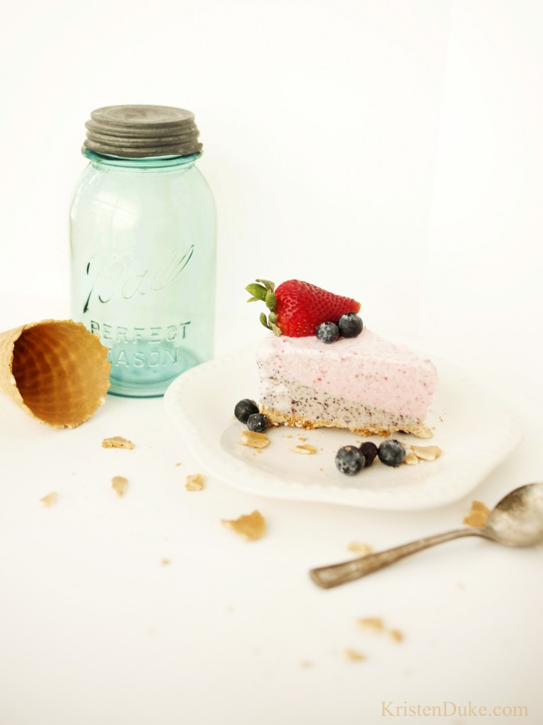15 Summer Treat Recipes: Fruit Smoothie Ice Cream Pie