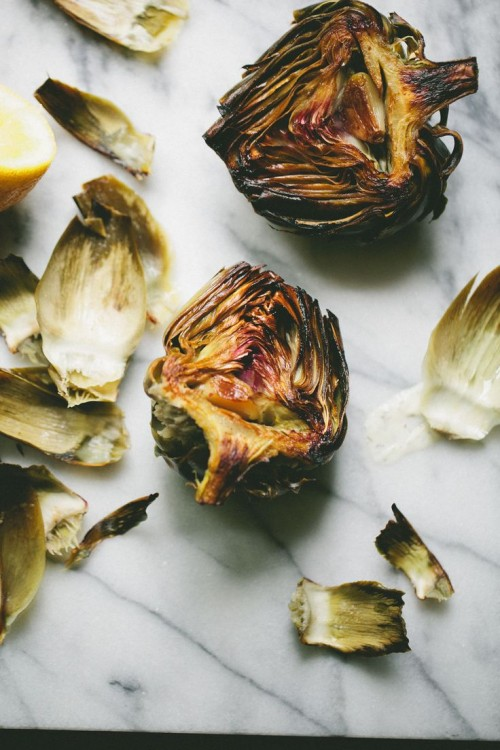 Lemon Garlic Artichoke Heart Recipe