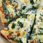 Spinach Artichoke Pizza Recipe