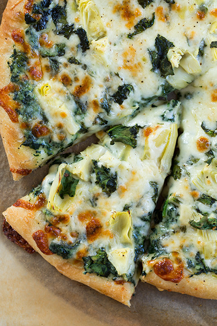 Spinach Artichoke Pizza Recipe