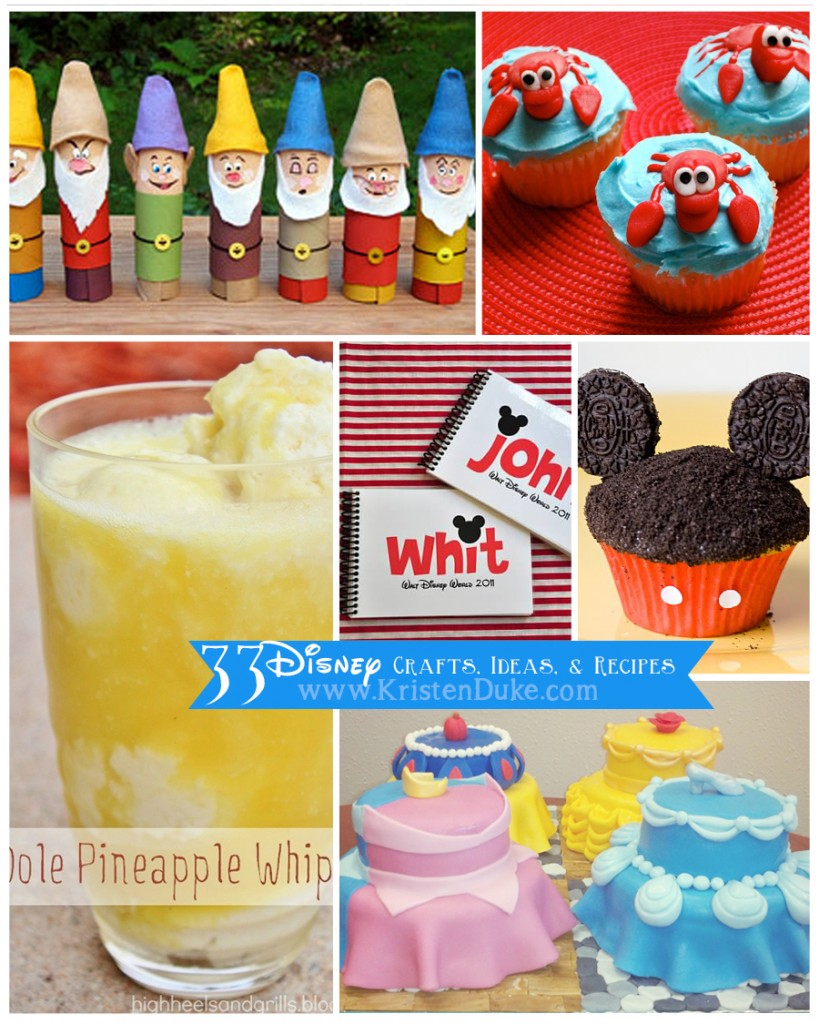 33-Disney-Crafts-Ideas-and-Recipes