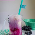 Fun Summer Recipe: Blueberry Soda Float
