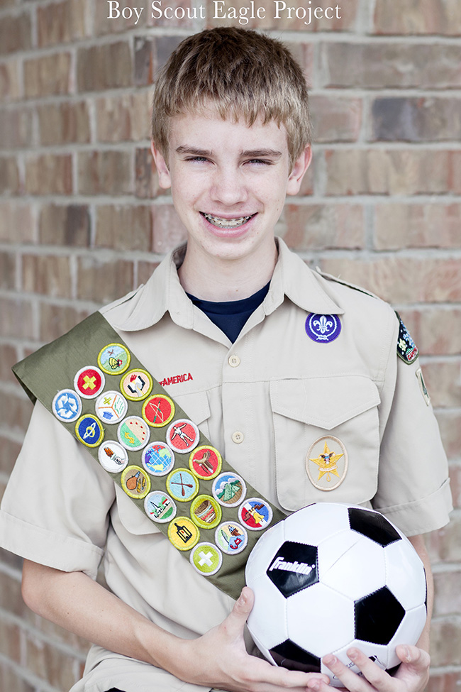 Boy Scout Eagle Project with Soccer