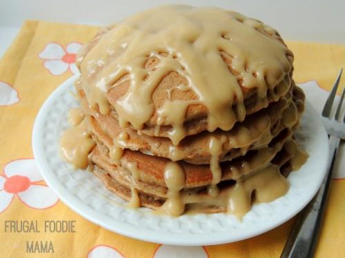 Cake mix carrot cake pancakes