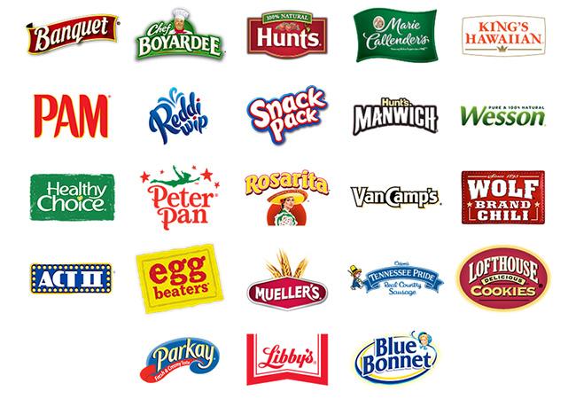 ConAgra Foods brands