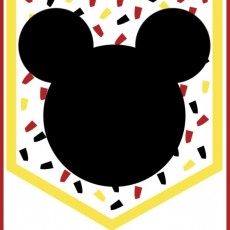 Disney Mickey Mouse and Happy Birthday Banners (2 free printable banner options)