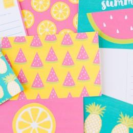 Printable Summer Postcards