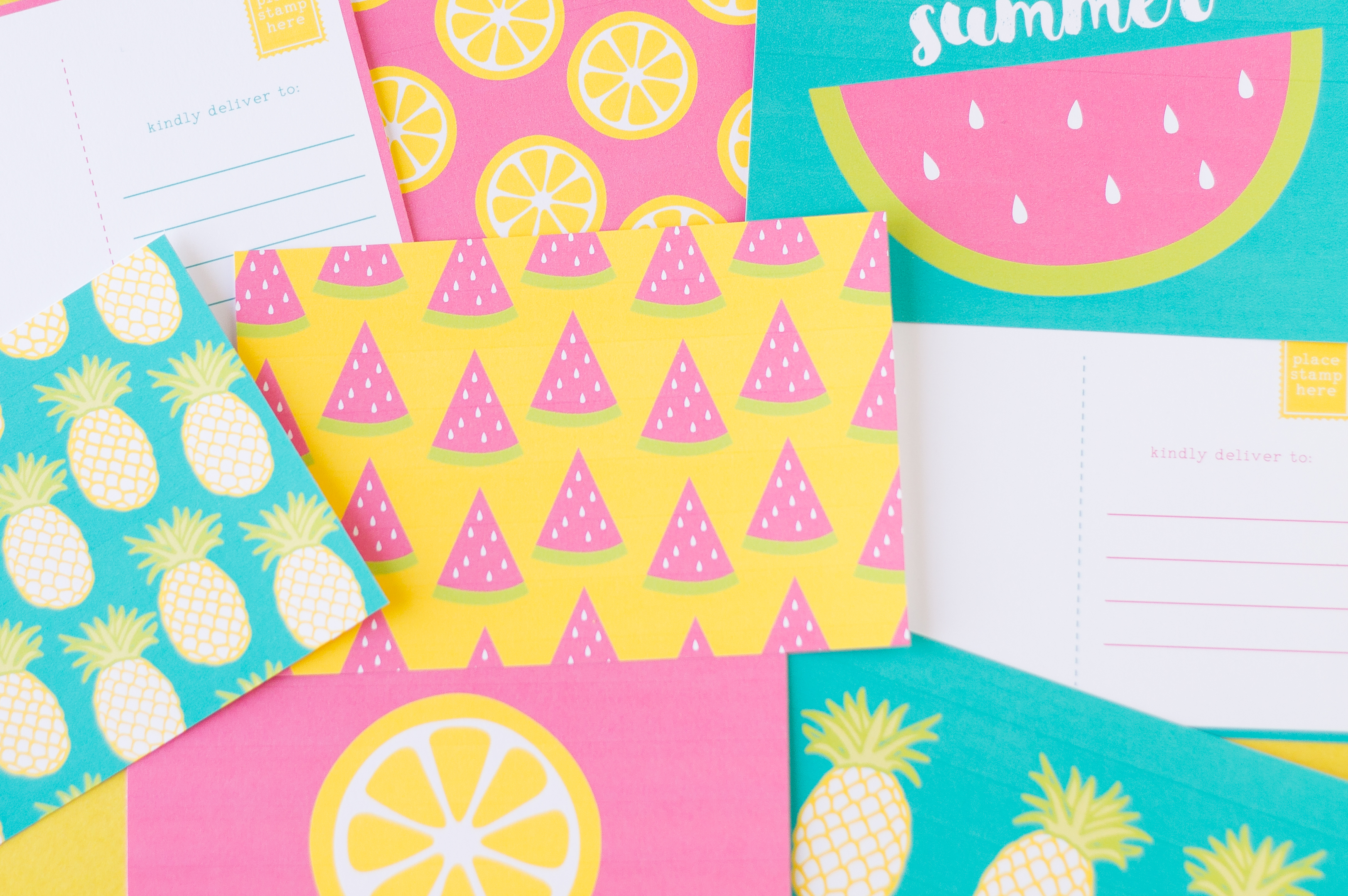 Printable Summer Postcards Capturing Joy with Kristen Duke