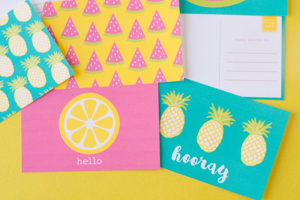 Free Summer Postcards (7)