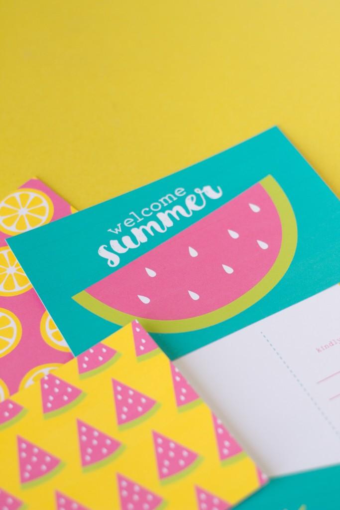 Free Summer Postcards (8)