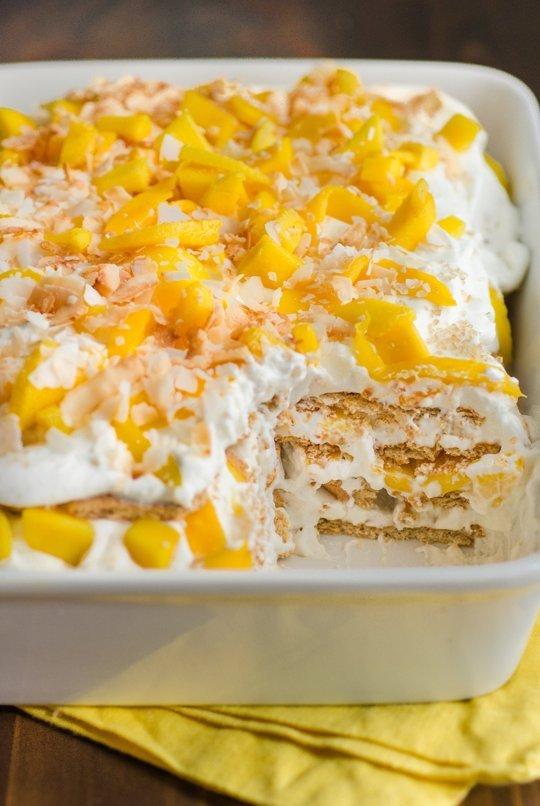 Mango Icebox Cake