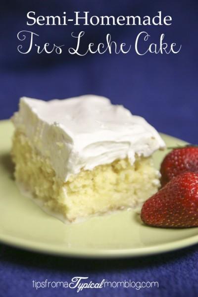 Tres Leche Cake Mix Recipe