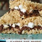 Smores Rice Krispie Treat Recipe