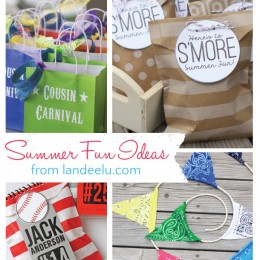 Got bored kids? Check out this round up of fun summer activities for kids!