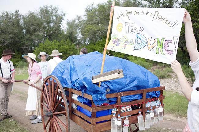 Team Duke handcart