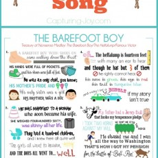 The Barefoot Boy with Shoes On Memorize a Camping and Summer Song