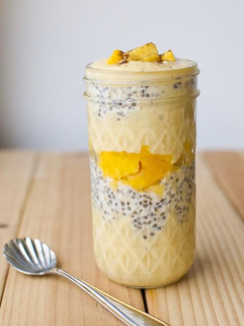 Mango Lassi Overnight Oatmeal