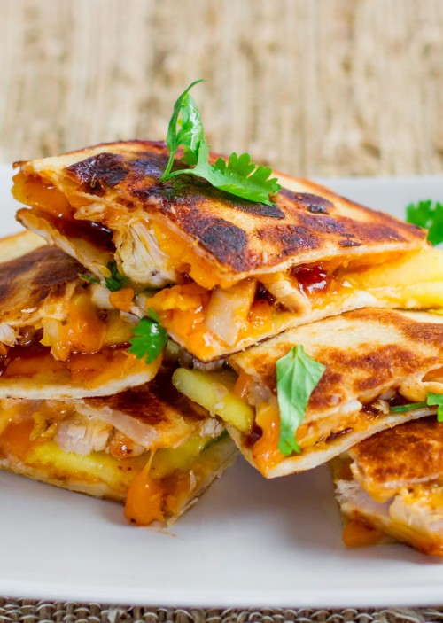 BBQ and Chicken Quesadilla Recipe