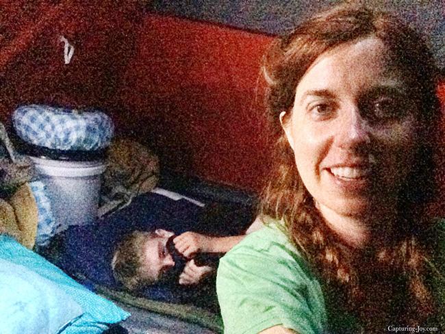 camping on pioneer trek