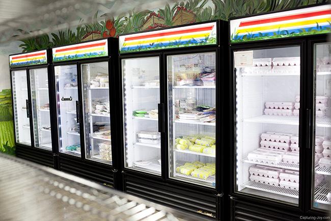 food pantry fresh options