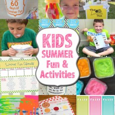 Keep your kids busy with these Summer Fun Activities!
