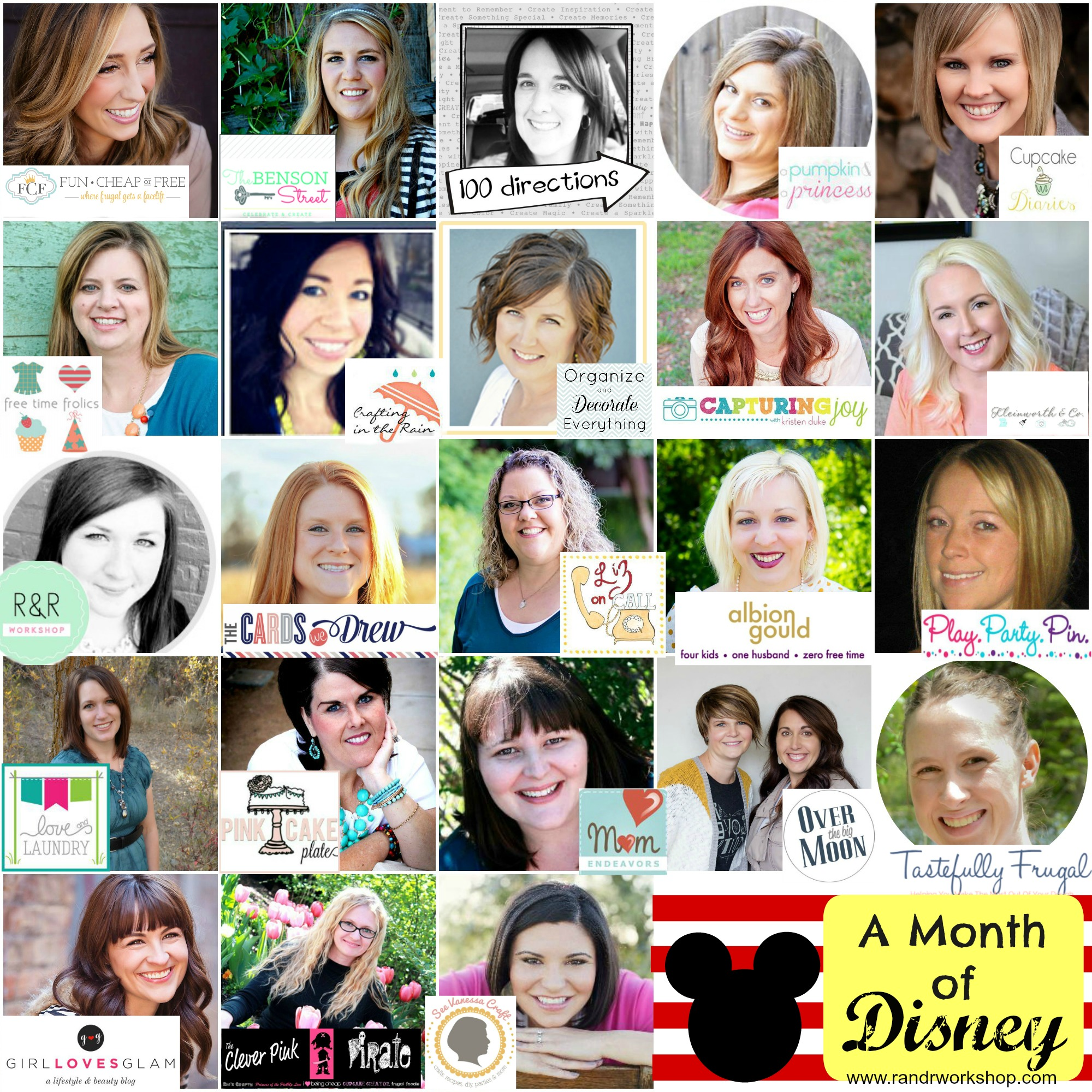 month of disney bloggers 2015