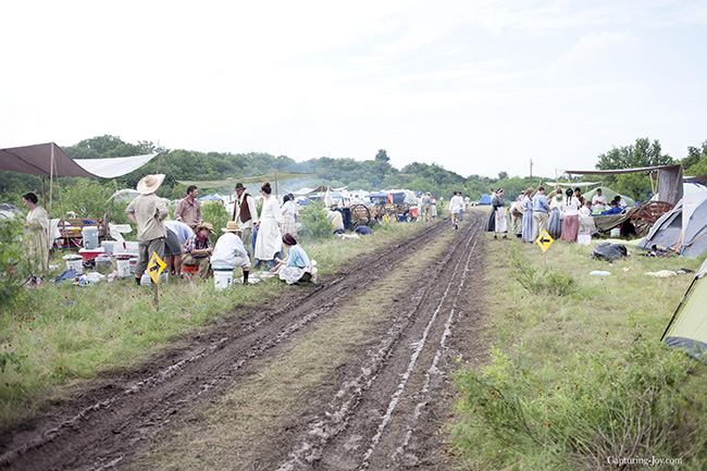muddy base camp