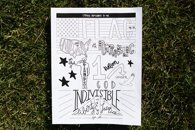 pledge of allegiance coloring page_maliacreative_2
