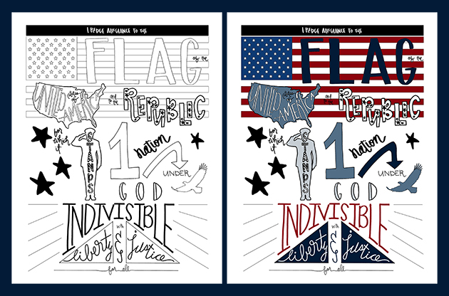 pledge of allegiance coloring page_maliacreative_4