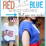 Patriotic Clothes you can make! Perfect for the 4th of July