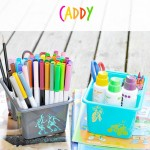 Keep your kids busy this summer with this Summer Learning Caddy!