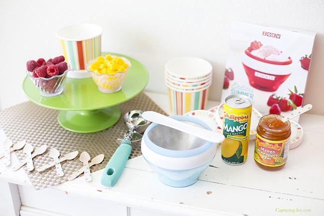 mango ice cream ingredients