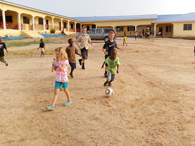 Childrens Home in Ghana