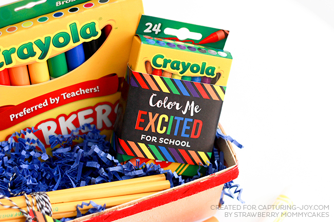 Color Me Excited Back to School Printables