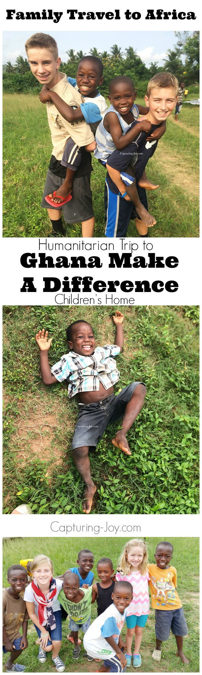 Family Travel to Africa with Humanitarian Trip to Ghana make a difference Children's Home