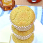 Amazingly light and fluffy Gluten Free Honey Cornbread Muffins with a touch of honey and a whole lot of flavor! Top with melted butter and honey for a real treat.