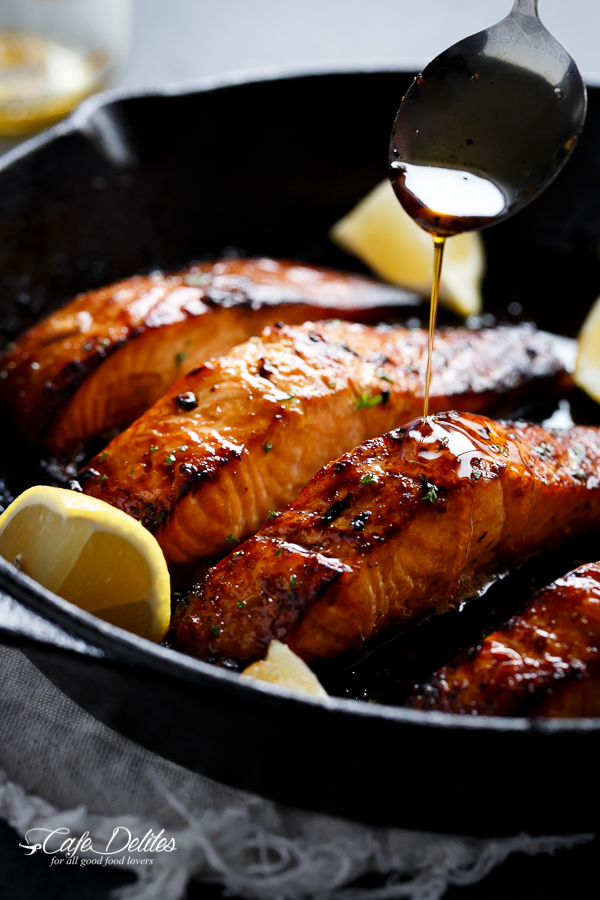 Honey and Brown Butter Salmon Recipe