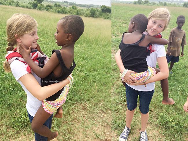 Hugs in Ghana
