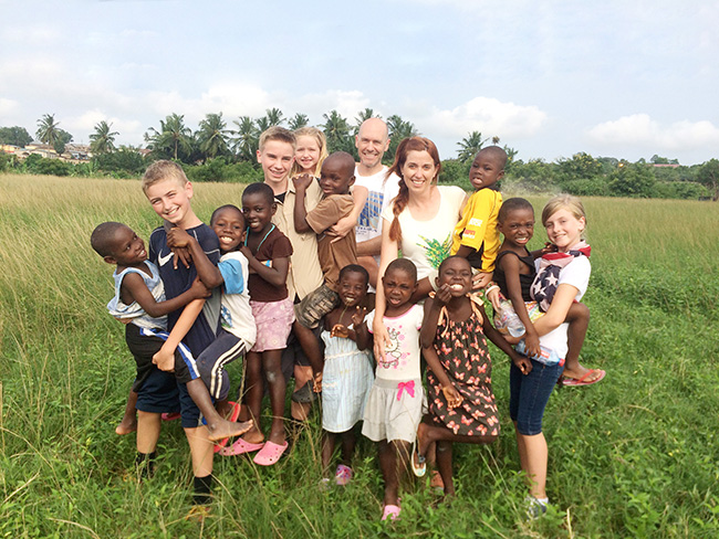 Loving the children in Ghana
