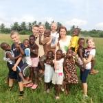 Loving the children in Ghana