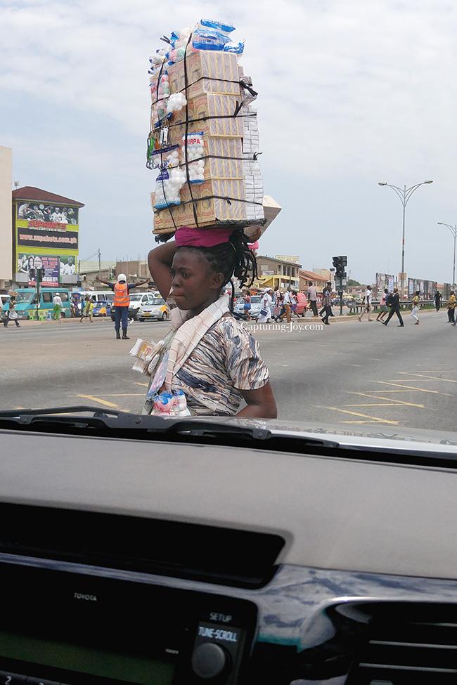 hawker in Africa