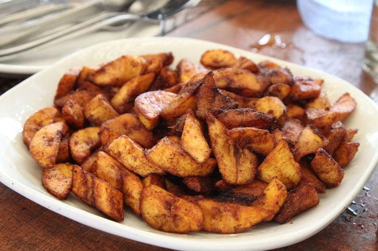 kelewele ghana food with ripe plantains