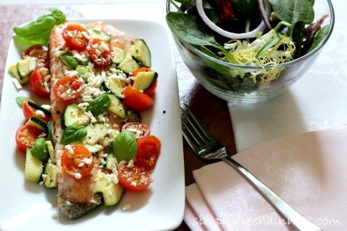 mediterrean salmon recipe