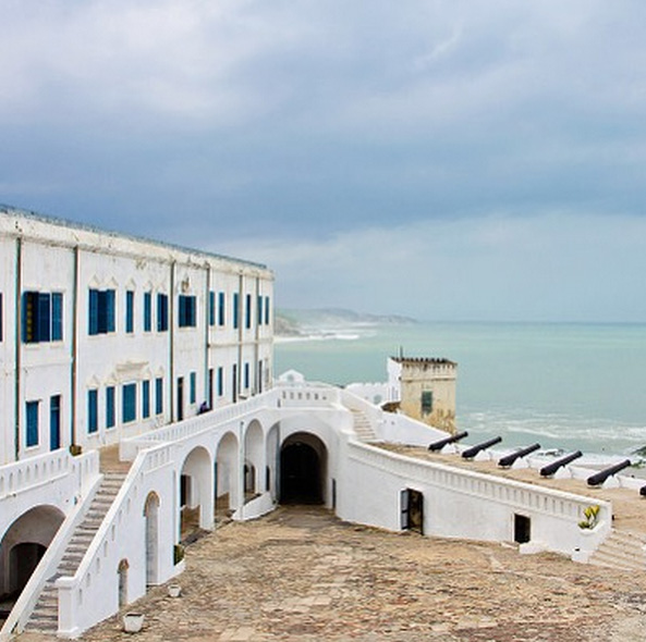 Cape Coast Slave Fort in Ghana