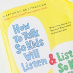 Communication parenting book about talking and listening