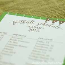 Editable Football Schedule Free Printable 5- @hipandsimple