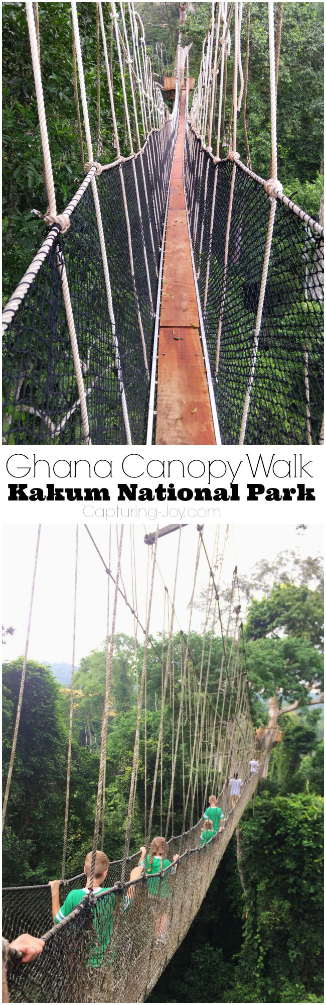 Ghana Canopy Walk Kakum National Park