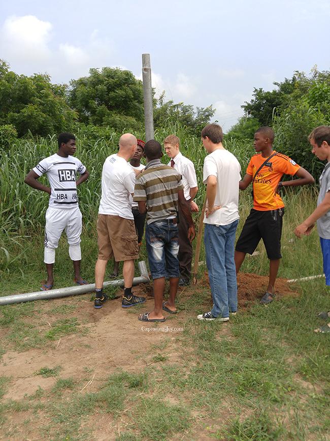 Ghana humanitarian project