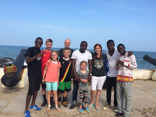 New friends in Ghana