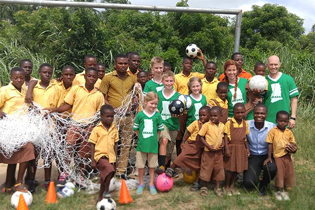 Soccer Goals in Ghana